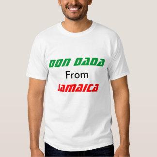 ponga el dada de Jamaica Camisetas