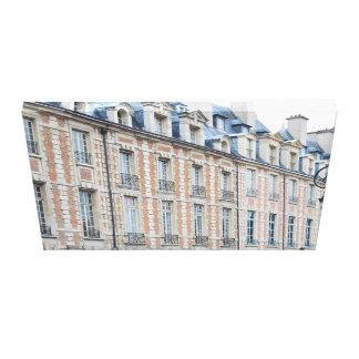 ponga la LONA ENVUELTA París del DES los Vosgos Impresión En Lienzo