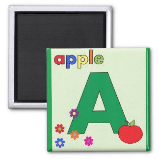 "Ponga letras a ""A"" está para el imán de Apple"