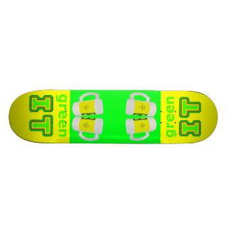 póngalo verde los vidrios de cerveza del gibsphoto tablas de skate