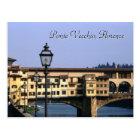 Ponte Vecchio, postal de Florencia el  