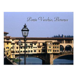 Ponte Vecchio, postal de Florencia el |
