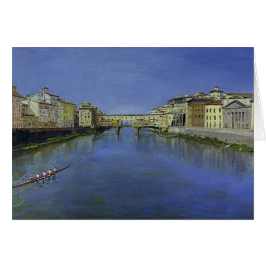 Ponte Vecchio Tarjeta De Felicitación