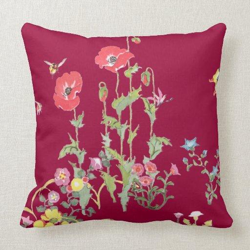 Poppys abejas y mariposas en el jard n de flores for Ahuyentar abejas jardin