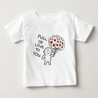 Por completo del amor a usted camiseta de bebé