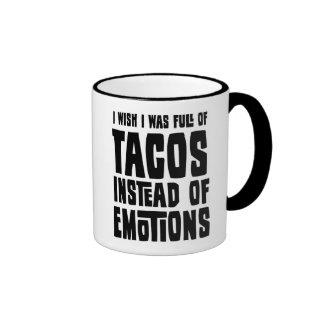 Por completo del Tacos Taza De Dos Colores