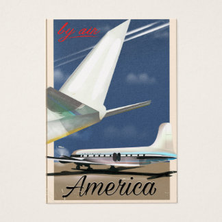 Por el aire - América Tarjeta De Visita