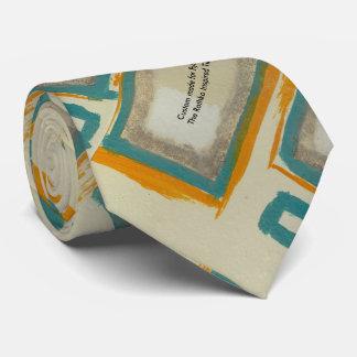 Por encargo para él el lazo inspirado Rothko Corbatas Personalizadas
