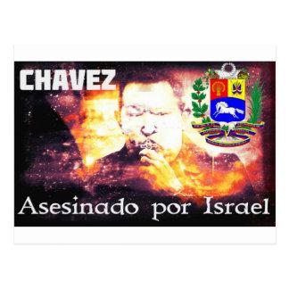 Por Israel de Chavez Asesinado Postal