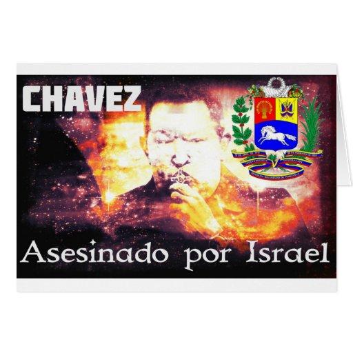 Por Israel de Chavez Asesinado Felicitación