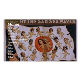Por las ondas tristes del mar, 'el japonés alegre  tarjeta de negocio