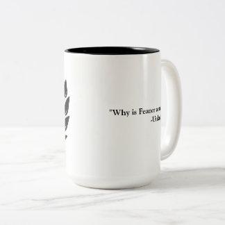 ¿Por qué es Feanor una MOD? Taza De Café De Dos Colores