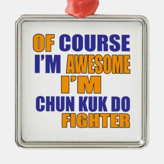 Por supuesto soy Chun Kuk hago el combatiente Adorno De Cerámica