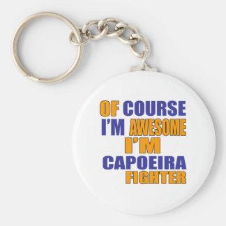 Por supuesto soy combatiente de Capoeira Llavero