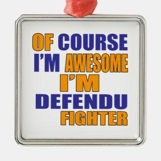 Por supuesto soy combatiente de Defendu Adorno De Cerámica