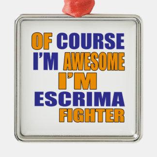 Por supuesto soy combatiente de Escrima Adorno De Cerámica