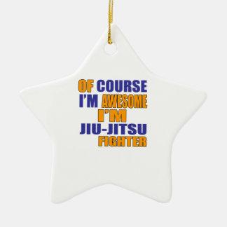 Por supuesto soy combatiente de Jiu Jitsu Adorno De Cerámica