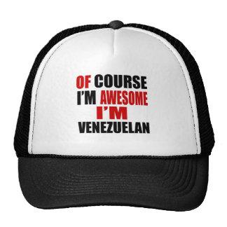 POR SUPUESTO SOY IMPRESIONANTE YO SOY VENEZOLANO GORRO DE CAMIONERO