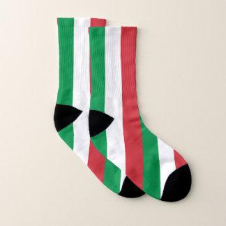 Por todo calcetines de la impresión con la bandera