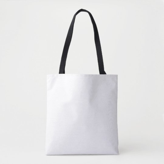 Custom Bolsa de tela con estampado integral.