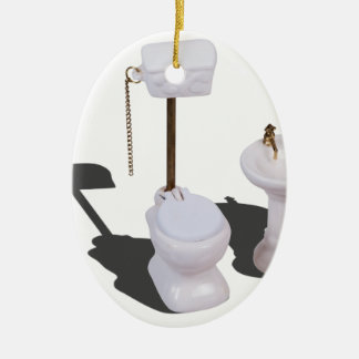 PorcelainToiletWithPullChain103013.png Adorno Ovalado De Cerámica