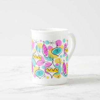 Porcelana de hueso multi de la taza de las