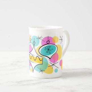 Porcelana de hueso retra de la taza de las