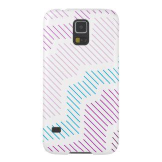 porciones 42PlaidStars de líneas caso de Samsung Carcasa Galaxy S5