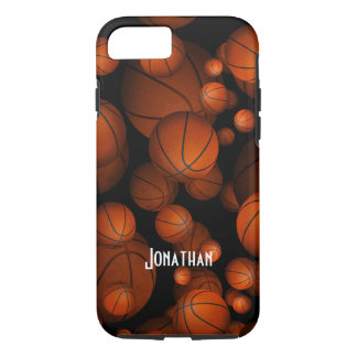 Porciones de baloncestos funda iPhone 7