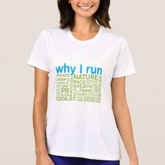 Porqué corro 2 camiseta