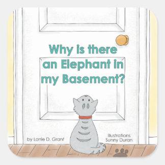 Porqué hay un elefante en mi pegatina del sótano