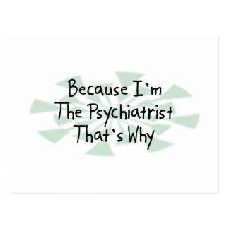 Porque soy el psiquiatra postal