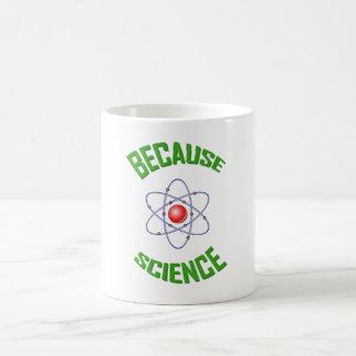 Porque taza de café de la ciencia