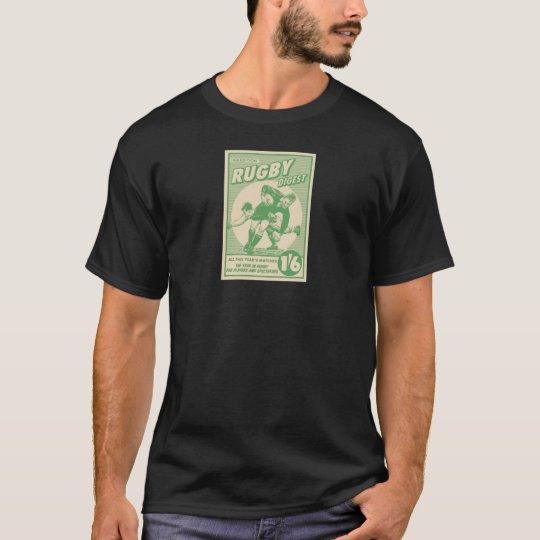 Portada de revista retra de Ruggershirts Camiseta