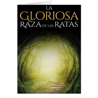 """Portada del libro """"La Gloriosa Raza de las Ratas """" Tarjeta De Felicitación"""