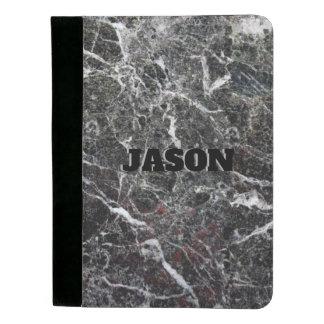Portafolios Textura gris de la piedra del mármol del color del