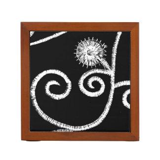 Portalápices Diseño floral egipcio