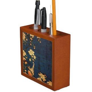 Portalápices Impresión tradicional del papel japonés del