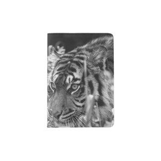 Portapasaportes Ahorre el tigre de Sumatran