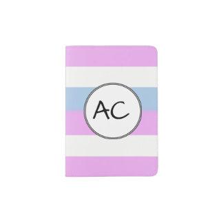Portapasaportes Bandera del orgullo de Intersex