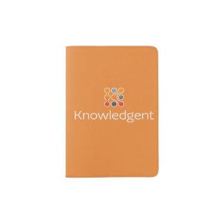 Portapasaportes Cubierta del pasaporte de Knowledgent