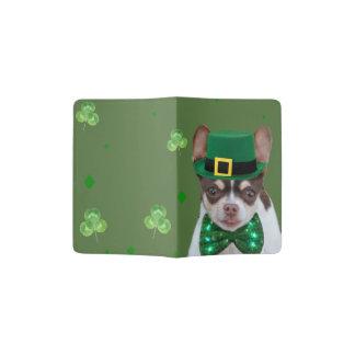 Portapasaportes Cubierta irlandesa del pasaporte del perro de la