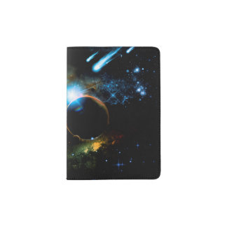 Portapasaportes El universo de planetas