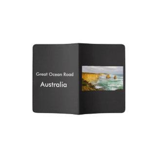 Portapasaportes Gran tenedor del pasaporte de Australia del camino