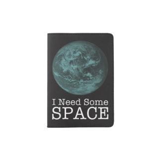 Portapasaportes Necesito algún tenedor del pasaporte del espacio