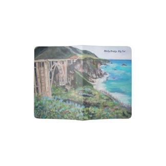 Portapasaportes Puente de Bixby, tenedor de encargo del pasaporte
