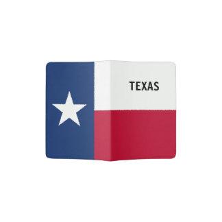 Portapasaportes Tenedor del pasaporte de la bandera de Tejas