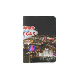 Portapasaportes Tenedor del pasaporte de Las Vegas