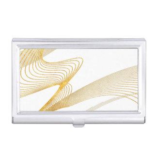 Portatarjetas de encargo elegante del cajas de tarjetas de visita