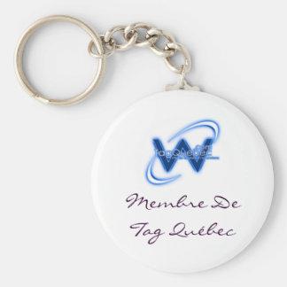 porte clef de tag Quebec Llaveros Personalizados